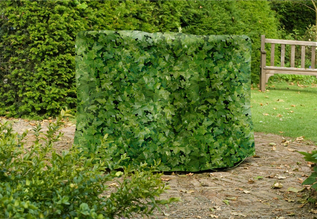 B che de protection camouflage pour ensemble de meubles de for Bache de table de jardin