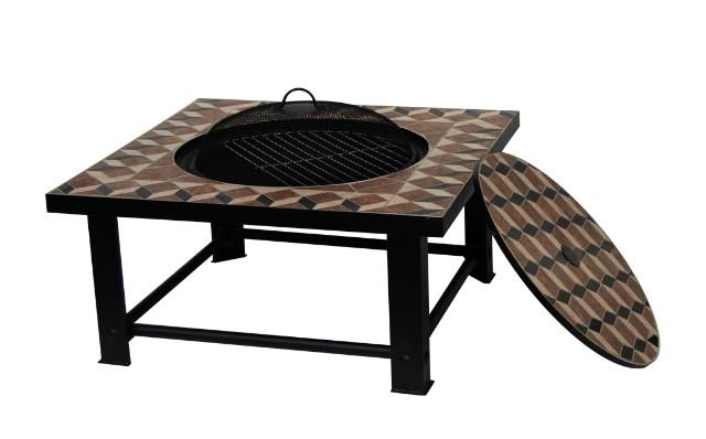 Barbecue brasero palermo table - Table brasero ...