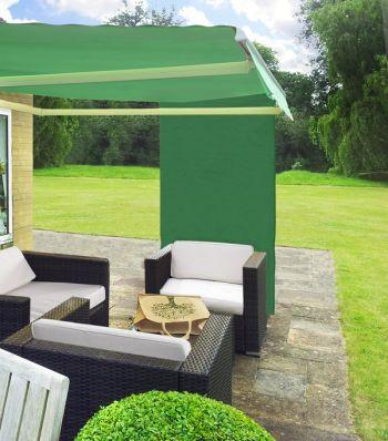 toile d 39 ombrage verte rectangulaire pour store de terrasse 34 99. Black Bedroom Furniture Sets. Home Design Ideas