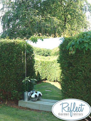miroir de jardin en acrylique plaque simple tailles multiples 39 99. Black Bedroom Furniture Sets. Home Design Ideas