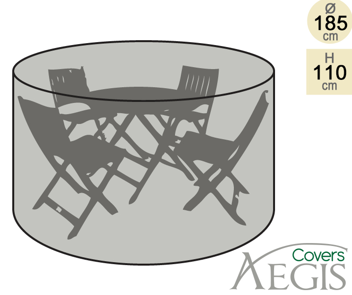 Gardman 35905 4 Seater Round Patio Set Cover - Patio Designs