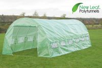 Serre Tunnel en Polyethyl�ne Renforc� 6m x 3m - New Leaf