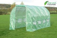 Serre Tunnel en Polyethyl�ne Renforc� 4m x 2m - New Leaf