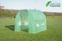 Serre Tunnel en Polyethyl�ne Renforc� 2.5m x 2m - New Leaf