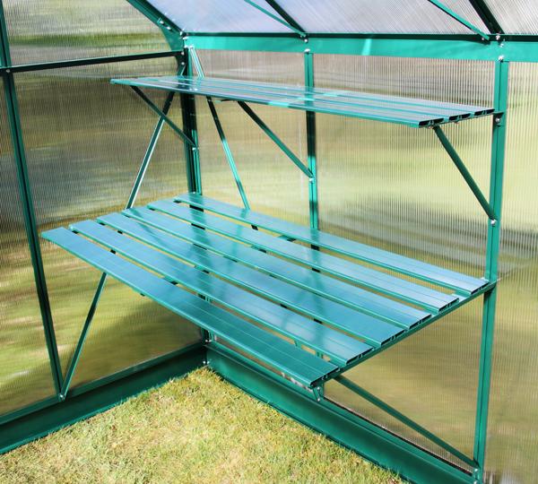 etag re 6 lattes pour serre lacewing deluxe vert 79 99. Black Bedroom Furniture Sets. Home Design Ideas