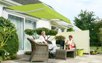 store banne demi coffre manuel vert citron 2 5m x 2 0m 329 99. Black Bedroom Furniture Sets. Home Design Ideas