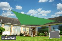 Voile d'Ombrage Vert Rectangle 4x3m - Imperm�able - 160g/m2 - Kookaburra