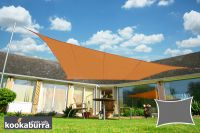 Voile d'Ombrage Terracotta Rectangle 3x2m - Imperm�able - 160g/m2 - Kookaburra