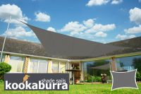 Voile d'Ombrage Charbon Rectangle 4x3m - Imperm�able - 160g/m2 - Kookaburra