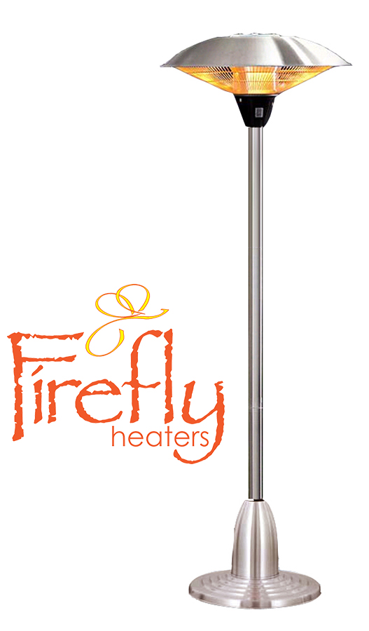 parasol chauffant lectrique ip44 169 99. Black Bedroom Furniture Sets. Home Design Ideas