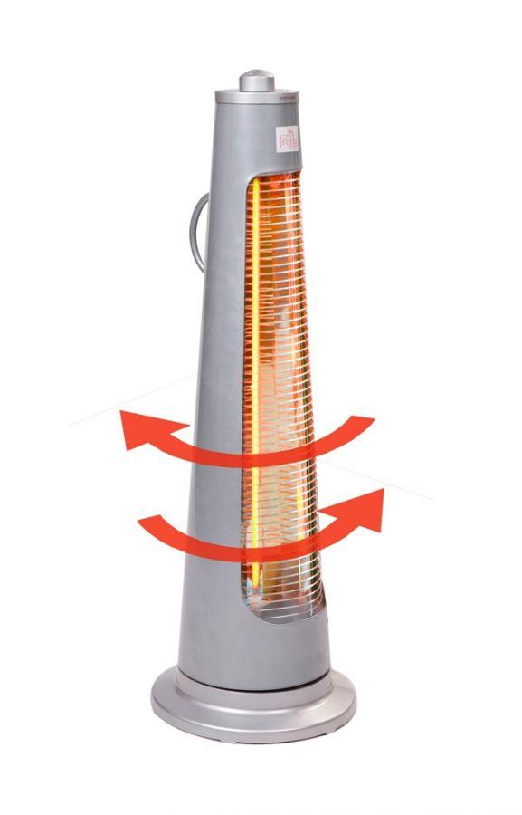 Parasol chauffant lectrique 450 900w pyramide ipx4 79 99 - Parasol chauffant pyramide ...