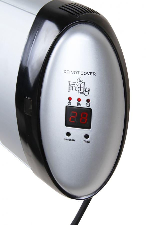 Chauffage ext rieur lectrique mural 2kw thermostat for Chauffage exterieur electrique