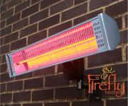Firefly� Chauffage Ext�rieur �lectrique 1,8kW - T�l�commande - IP55