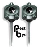 R�pulsif Chat � piles PestBye� - Lot de  2