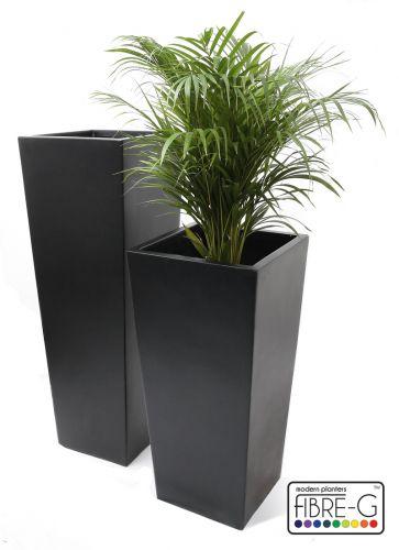 Grand cache pot vas noir obscur xl 179 99 for Grand cache pot exterieur