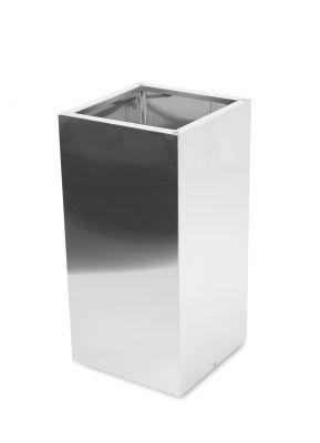 cache pot haut cube en acier inoxydable bross 35cm x 110cm 259 99. Black Bedroom Furniture Sets. Home Design Ideas