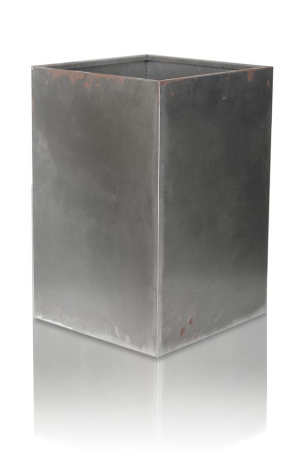 grand cache pot acier corten hauteur75cm x largeur50cm 204 99. Black Bedroom Furniture Sets. Home Design Ideas