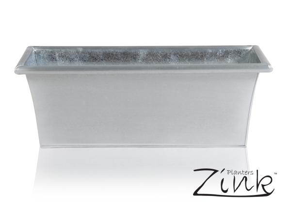 jardini re rectangulaire zinc galvanis l50cm x h18cm 31 99 On jardiniere zinc rectangulaire