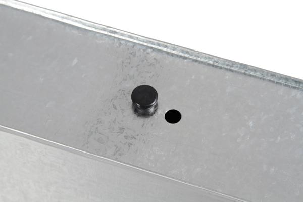 Jardini re rectangulaire zinc galvanis l50cm x h18cm 31 99 - Jardiniere zinc rectangulaire ...