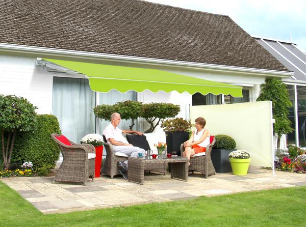 store banne monobloc manuel vert citron 2 5m x 2m 249 99. Black Bedroom Furniture Sets. Home Design Ideas