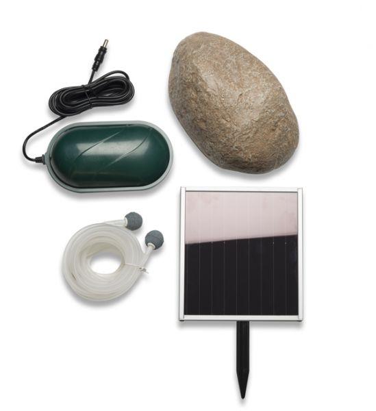 Oxyg nateur a rateur solaire de bassin 2 pierres avec camouflage galet 49 99 - Bassin pierre prix boulogne billancourt ...