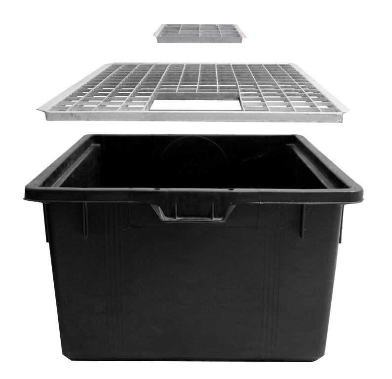 R Servoir En Plastique Avec Grille 90l 79cm X 48cm 134 99