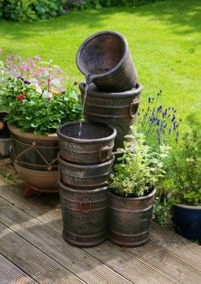 Fontaine Seaux Empilés avec Cache-Pot 109,99€