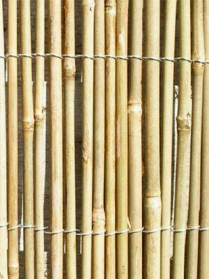 canisse en cannes de bambou papillon 4m x 2m 74 99. Black Bedroom Furniture Sets. Home Design Ideas