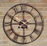 Horloge d'Ext�rieur - Finition M�tal Antique - About Time�