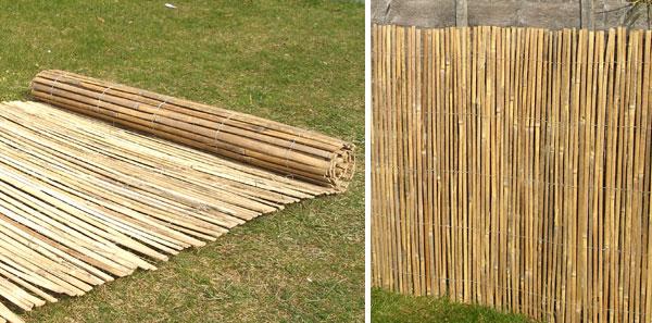 canisse bambou fendu papillon 4m x 1 8m 46 99. Black Bedroom Furniture Sets. Home Design Ideas