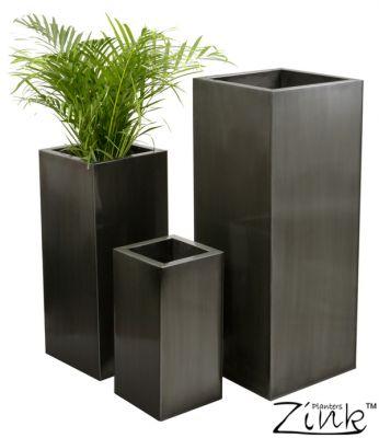 Jardinière, pots en zinc Pp0500main_sml