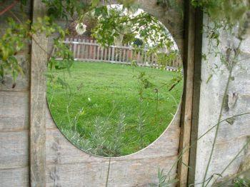Miroir de jardin circulaire en acrylique 29 99 for Miroir en acrylique