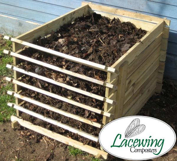 Bac Compost En Bois Facile Charger Petite Taille 449 Litres 48 99