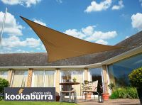 Voile d'Ombrage Mocha Triangle Rectangle 4,2m - Imperm�able - 160g/m2 - Kookaburra