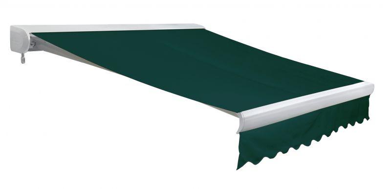 store banne coffre entier u line sans fil vert 4m x 3m 604 99. Black Bedroom Furniture Sets. Home Design Ideas