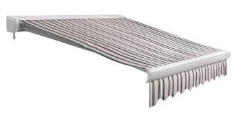 store banne coffre entier u line sans fil multi rayures 4m x 3m 899 99. Black Bedroom Furniture Sets. Home Design Ideas