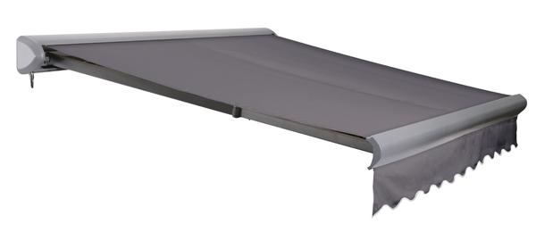 store banne coffre entier v line sans fil charbon 4m x 3m 644 99. Black Bedroom Furniture Sets. Home Design Ideas