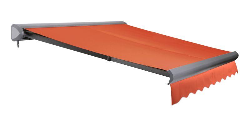 store banne coffre entier v line sans fil terracotta 4m x 3m 644 99. Black Bedroom Furniture Sets. Home Design Ideas