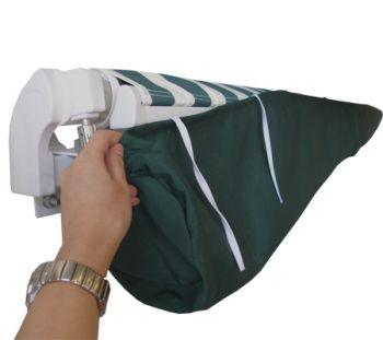 sac de protection pour store banne vert 4m 37 99. Black Bedroom Furniture Sets. Home Design Ideas
