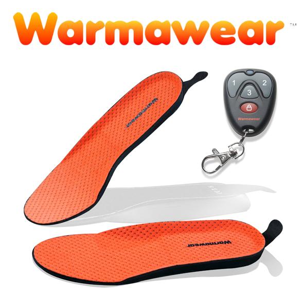 Warmawear/™ Semelles Chauffantes Rechargeables sans Fil Imperm/éables