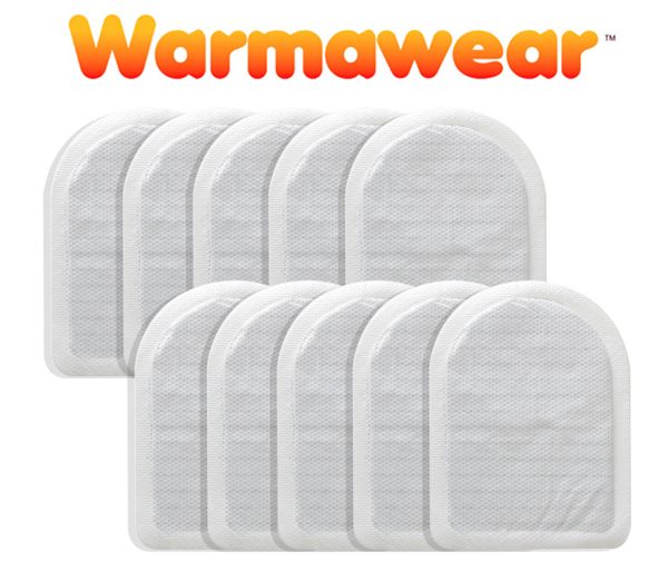 Packs de Chauffe-Orteils Jetables - Lot de 10 - Par Warmawear™ 16,99 € 4fda2f2a205