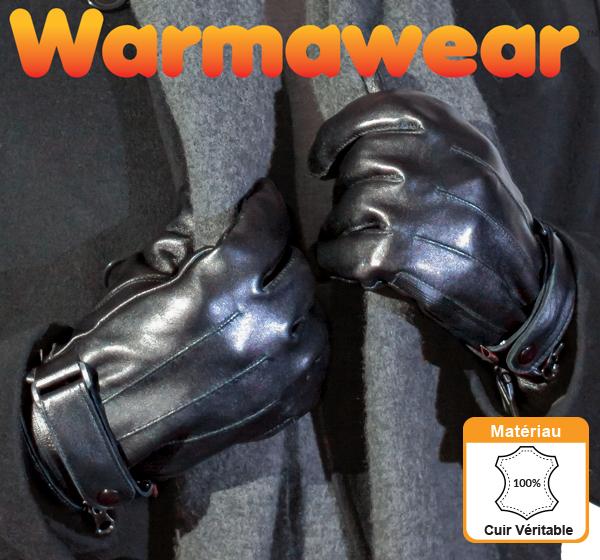 Gants Chauffants en Cuir à Piles Dual Fuel Burst Power – 3 Réglages – par  Warmawear ... 71b99de6225