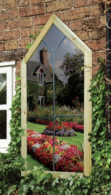 miroir de jardin renaissance 139 99. Black Bedroom Furniture Sets. Home Design Ideas