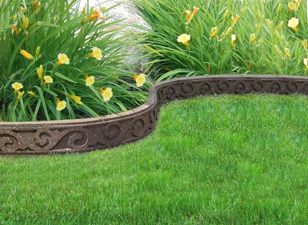 Bordure de Jardin Bande Ornementé FlexiCurve (1 x 1,2m) Couleur ...