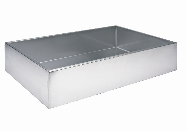 Square 50L Stainless Steel