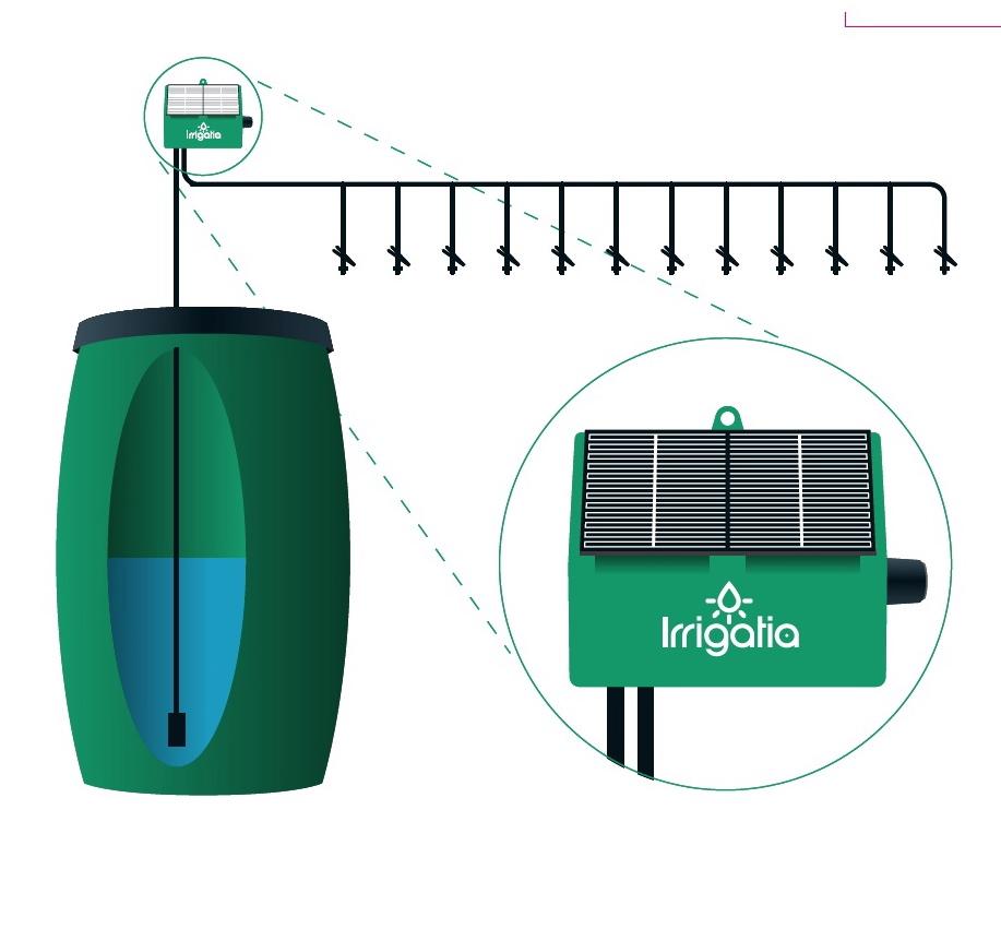 Syst me d 39 irrigation solaire sol k12 129 99 for Systeme anti aboiement exterieur