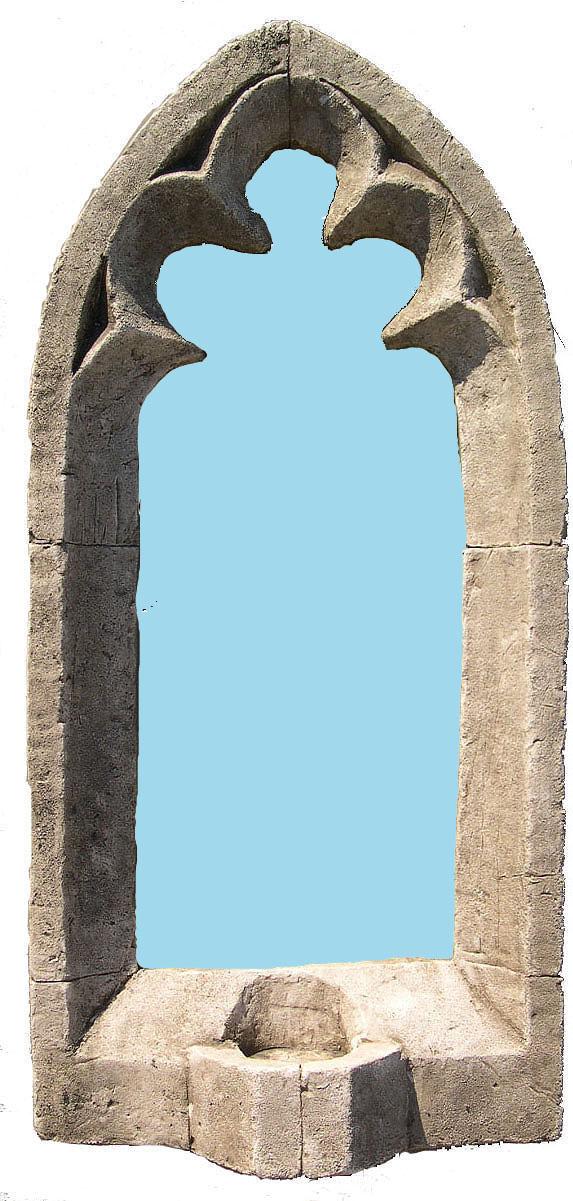 Miroir d 39 ext rieur applique gothique 119 99 for Miroir d exterieur