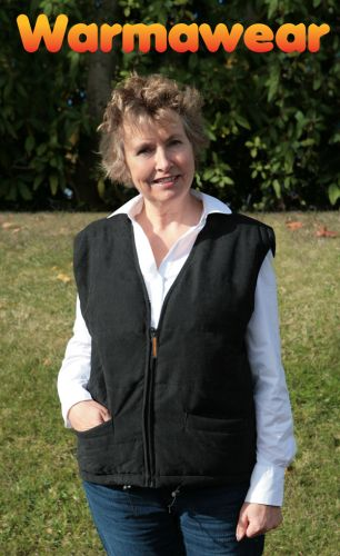 Gilet Chauffant Intégral Noir - Femme - Warmawear 22,99 € 99aa3a5a656