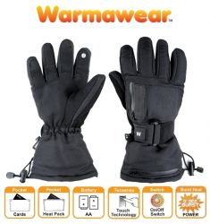 Gants de Ski Chauffants à Piles Dual Fuel Burst Power - Par Warmawear™