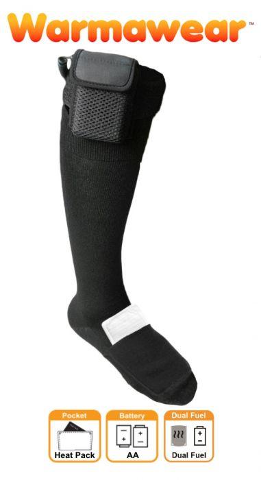 Chaussettes Chauffantes à Piles Dual Fuel - par Warmawear™ 39,99 € 0ee8fb2d493
